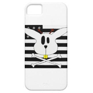Jackalopeは白黒旗に直面しました iPhone SE/5/5s ケース