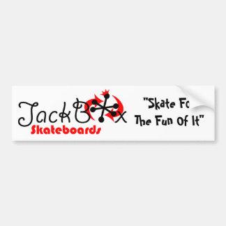 JackBoxのバンパー バンパーステッカー