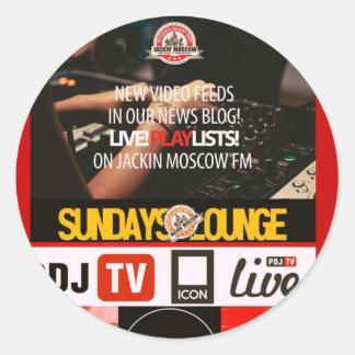 JackinモスクワFM/News ラウンドシール