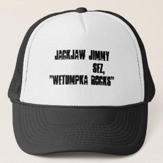 """JackJawジミーの           sezは、""""Wetumpka揺れます"""" キャップ"""