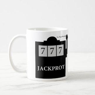 Jackprot! スティーブBrule Mugスロットマシンの先生 コーヒーマグカップ