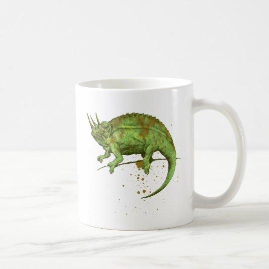Jackson's chameleon コーヒーマグカップ