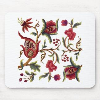 Jacobean刺繍 マウスパッド