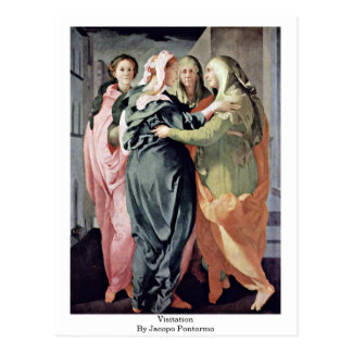 Jacopo Pontormo著訪問 ポストカード