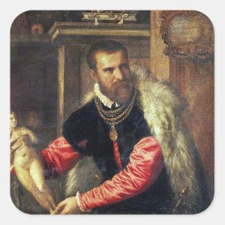 Jacopo Stradaの芸術の専門家 スクエアシール