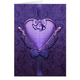 "Jaguarwomanの""バレンタインの砂糖菓子#6 "" カード"