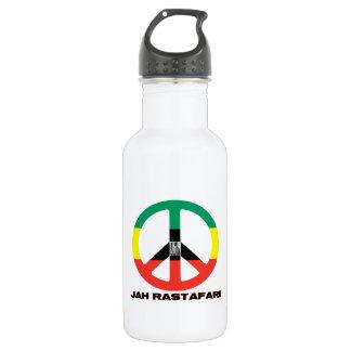 Jah RastafariのピースサインSelassie I ウォーターボトル