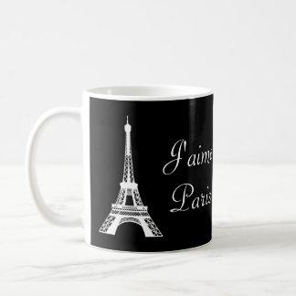 J'aimeパリのマグ コーヒーマグカップ