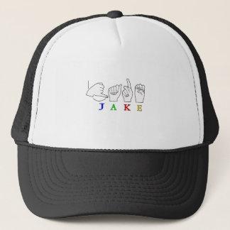 JAKE FINGERSPELLED一流ASLの印 キャップ