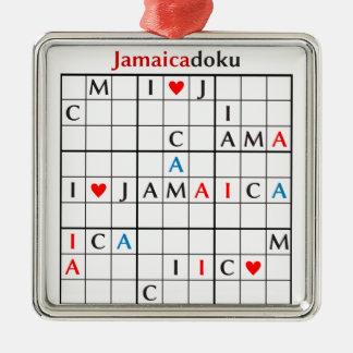 jamaicadoku メタルオーナメント
