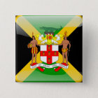 Jamaican glossy flag 缶バッジ