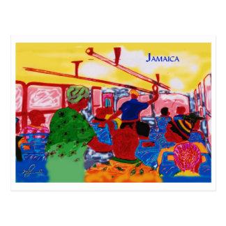 JamaicanBusRide ポストカード