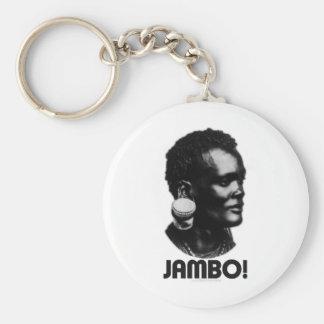 JAMBO! スワヒリ族の挨拶 キーホルダー