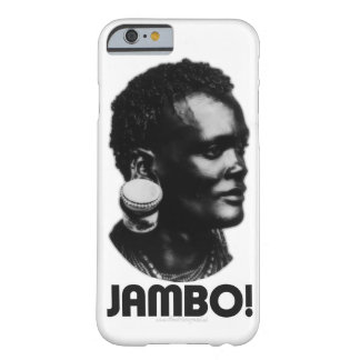 JAMBO! スワヒリ族の挨拶 BARELY THERE iPhone 6 ケース