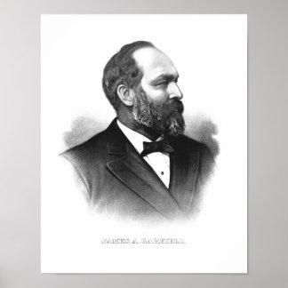 James Garfield大統領 プリント