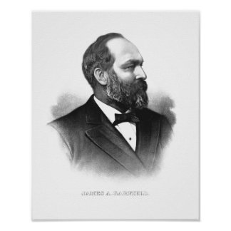James Garfield大統領 ポスター