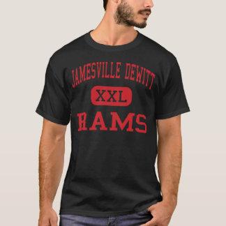 Jamesville DeWitt -ラム-高DeWittニューヨーク Tシャツ