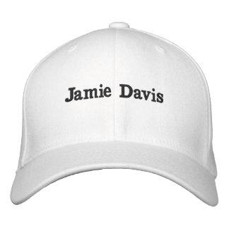 Jamieデービスの帽子 刺繍入りキャップ