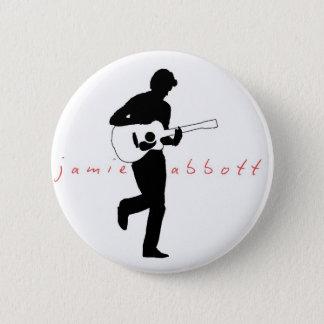 Jamie Abbottのクラシックのバッジ 5.7cm 丸型バッジ