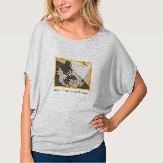 Jamminの改革の灰色のFlowyのカーブの上 Tシャツ