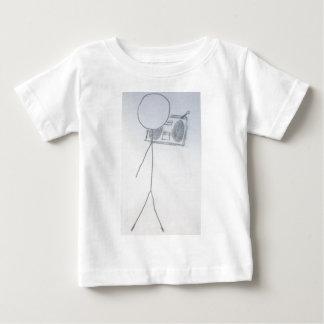 jamminの棒の人 ベビーTシャツ