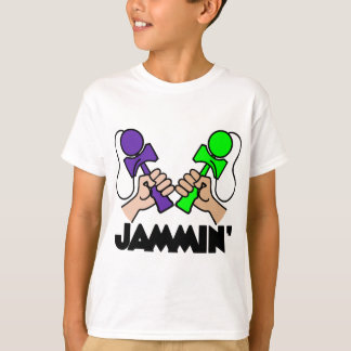 Jamminのpurplelime Tシャツ