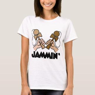 Jammin、brown2 Tシャツ