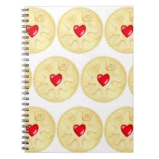 Jammyドジャースのビスケットのノート ノートブック