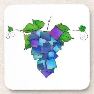 Jamurissa -正方形のブドウ コースター