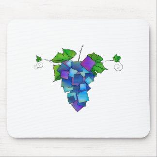 Jamurissa -正方形のブドウ マウスパッド