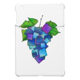 Jamurissa -正方形のブドウ iPad miniケース