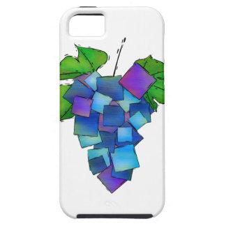 Jamurissa -正方形のブドウ iPhone SE/5/5s ケース