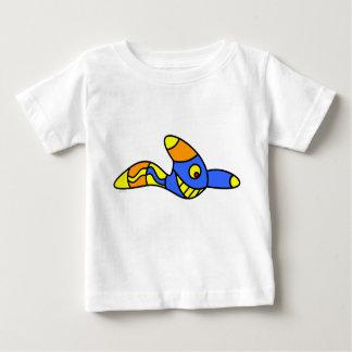 jangocreationのおもしろいなみみず ベビーTシャツ