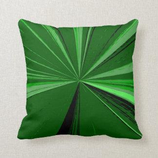 Janz著エメラルドグリーンの消失点の枕 クッション