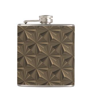 Janz著ダイヤモンドのプレートチョコレートスキットル フラスク