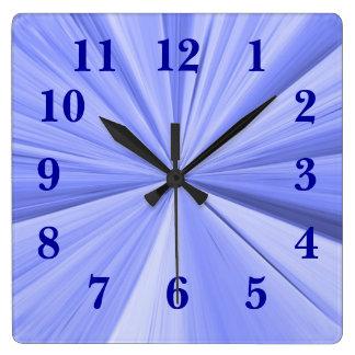 Janz著星の柱時計 スクエア壁時計
