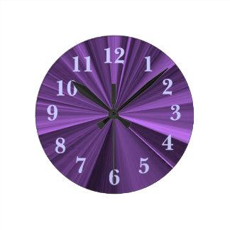 Janz著星の柱時計 ラウンド壁時計