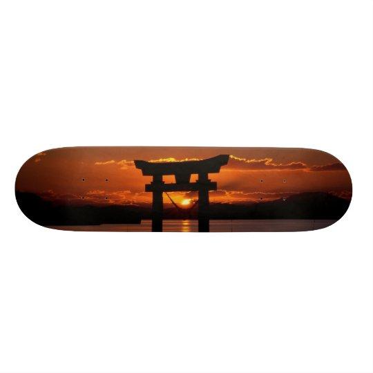 japan sunset skateboard deck 21.6cm スケートボードデッキ