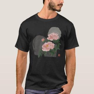Japanese flower BOTAN Tシャツ