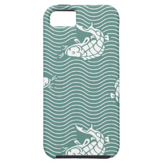 Japanese traditional pattern - Carp iPhone 5 Case-Mate ケース