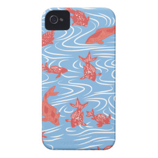 Japanese traditional pattern - Goldfish Case-Mate iPhone 4 ケース