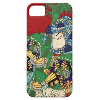 Japanese ukiyoe uesugi kenshin iPhone 5 Case iPhone SE/5/5s ケース