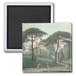 Jardin desの当惑かBelvedere マグネット