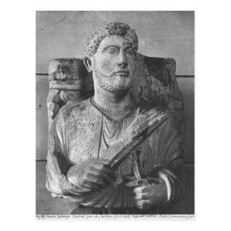 Jarhaiの葬式のレリーフ、浮き彫り、パルミラ遺跡から、シリア ポストカード