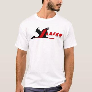 Jaribuの航空機のロゴ Tシャツ