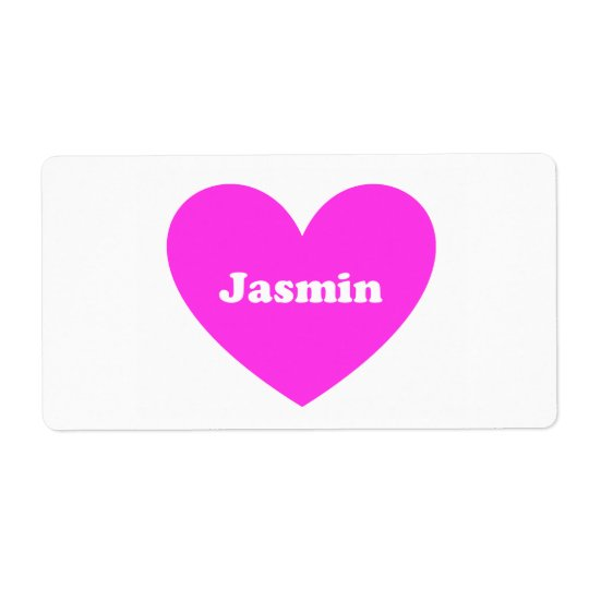 Jasmin ラベル