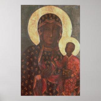 Jasna Goraの黒いマドンナ ポスター