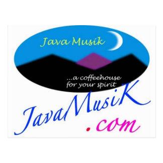 JavaMusiKの商品 ポストカード