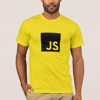 JavaScriptのロゴのTシャツ(金ゴールド) Tシャツ