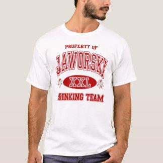 Jaworskiのポーランド人の飲むチーム Tシャツ